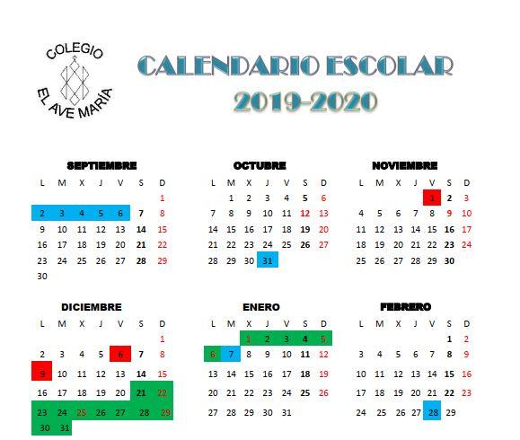 calendario 19-20-1